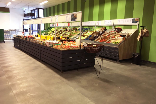 Supermarktböden