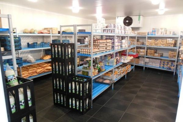 Food industry nonslip flooring