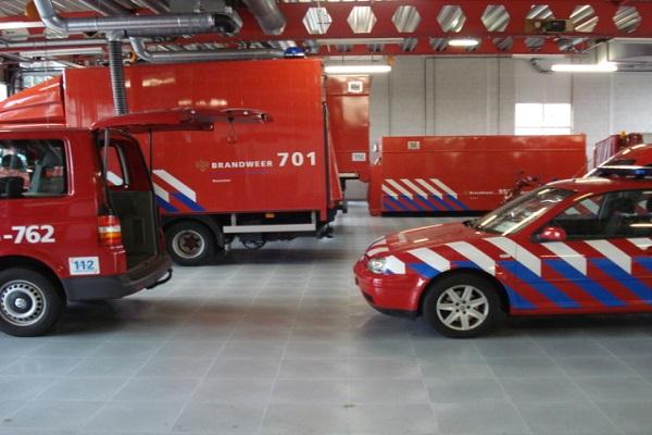 Boden im Feuerwehrhaus