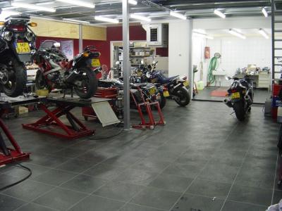 Motorradwerkstatt Boden