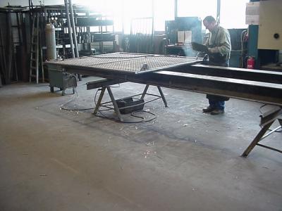 Boden in Metallindustrie