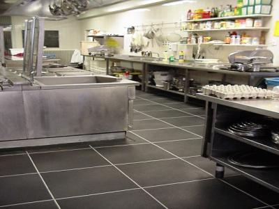 Grossküchenboden nach HACCP