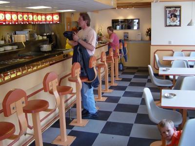Fastfoodrestaurant-Boden