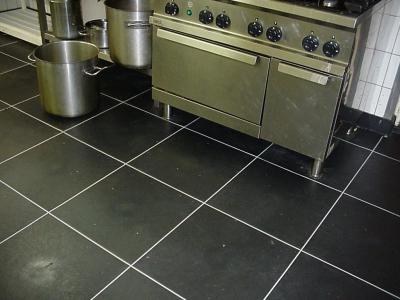 Restaurantküchenboden