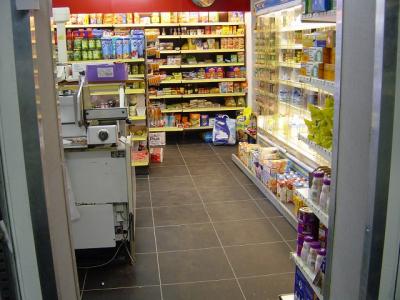Supermarktboden